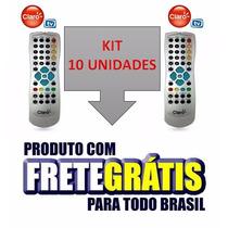 Kit Controle Remoto Claro Tv Sd Original - Frete Grátis