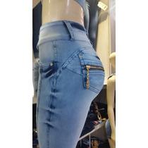 Calça Jeans Cintura Intermediária Da Fábrica, Goiânia Av. 44