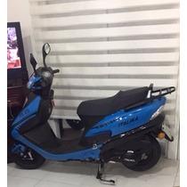 Motoneta Italika Modelo Xs 125 Color Azul, Tipo Scooter,2016