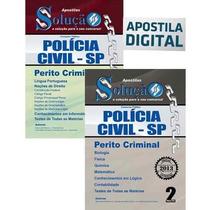 Apostila Perito Criminal Sp - Conforme Último Edital - Ebook