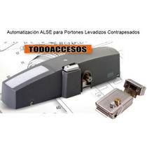 Kit Motor Porton Levadizo Mito + Cerradura Alse 12volt