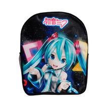 Vocaloid Miku Hatsune Mochila Backpack Coletas