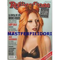 Lady Gaga Revista Rolling Stone Mexico De Julio 2011