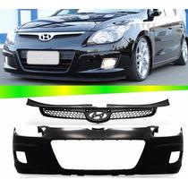 Parachoque Dianteiro E Grade Hyundai I30 09 10 11 09 10 11