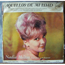 Rock Mexicano, Nadia Milton, Lp 12´, Hecho En México.