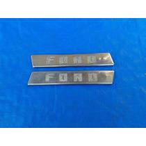 Emblema Ford Pick Up F1 F100 Antigo Raro!