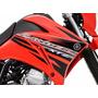 Kit Adesivos Faixas Yamaha Lander 250 - 2014 E 2011 Vermelha
