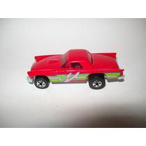 Hot Wheels 1991 1957 57 T-bird Ford Thunderbird Black Walls
