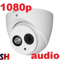 Camara Hdcvi Domo 1080p Exterior Metalica Audio Dahua Microf