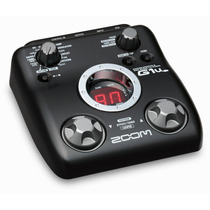Pedalera Zoom Para Guitarra Eléctrica Con Conexión Usb