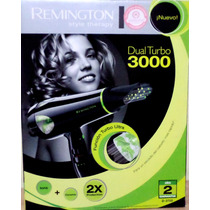 Secador Remington Profesional D-3700 Dual Turbo 3000