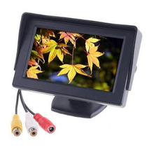 Monitor Pantalla 4.3 Auto Camara Retrovisora Dvd Rca 12v Hi