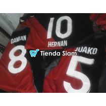 Estampados Numero Y Nombre Remeras De Futbol Tienda Siam Cba