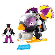 Dc Imaginext Super Friends Penguin Helicoptero Pinguim