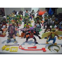 Tortugas Ninja C/accesorios Excelentes Condiciones