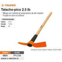 Talacho-pico 2.5 Lbs Mango De Madera 36