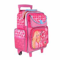 Mochilas Con Carro Barbie Original.