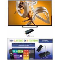 Pantalla Sharp Aquos Led 39 Full Hd + Android Toto Tv Stick