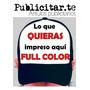 Gorras Personalizada Con Tu Logo Full Color Gabardina