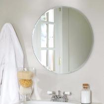 Espejo Redondo Sin Marco 80cm