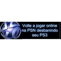 Desbanimento Ps3 Psid Idps Console Id Privada Psn Online