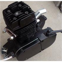 Kit Motor 80cc De Gasolina Para Bicicletas Y Bicimotor Negro