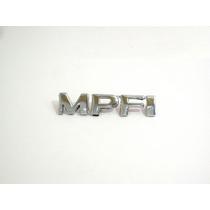 Emblema Plastico Cromado Mpfi Corsa