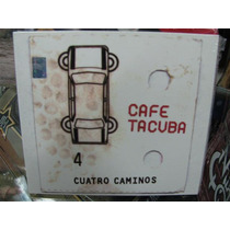 Cafe Tacuba Cuatro Caminos Cd Sellado Digipak