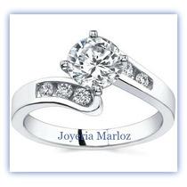 Anillo Oro 18kt Con Diamante Ruso Envio Gratis