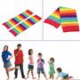 Meia Calça Listrada Infantil Colorida Para Pernas Ou Braços