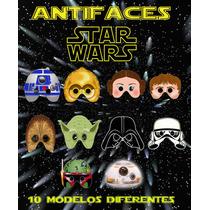 Mascaras Star Wars Para Fiesta Tematica Cumpleaños Festejo