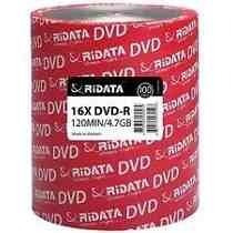 Dvd - R Ridata 4.7gb 8x Oferta X100 Unidades Estampados