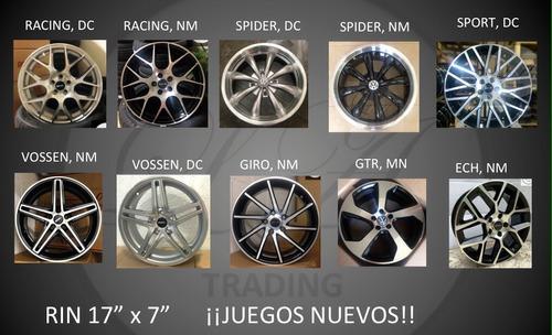 Rines Deportivos 17 Con Llantas, 205/40/17, 225/45/17 ...