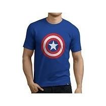 Camisas Franelas Capitan America Para Hombre