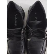 Zapatos Colegiales Kickers Nro 38, Poco Uso