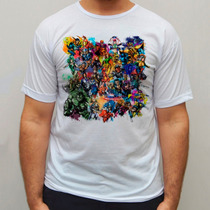 Camiseta Marvel Camisa Hq Blusa Comic, X-men Baby Look
