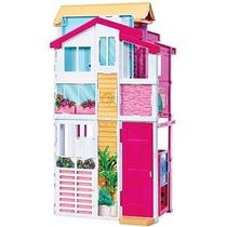 Barbie Real Super Casa 3 Andares - Dly32 Mattel