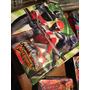 Carpeta Escolar Power Rangers Overdrive Pvc 3 Anillos