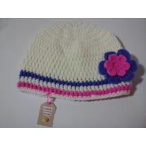 Gorro Tejido A Mano Crochet Para Niña, Adolescente, Dama