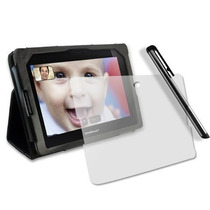 Funda De Piel Lujo Para Blackberry Playbook + Regalos