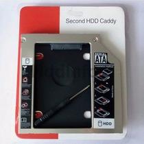 Adaptador Dvd P/ Hd Ou Ssd Sata Notebook Drive Caddy 12.7mm