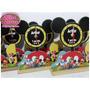 Enfeite De Mesa Relógio Tema : Turma Do Mickey - 10 Unidades