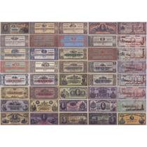 Réplica Cédulas De Réis (todas As 206) - Cada Cédula R$ 4,00