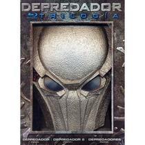 Depredador Boxset Con La Trilogia En Blu-ray Con Mascara