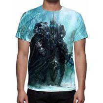 Camisa, Camiseta Warcraft - Wrath Of The Lich King Mod 03