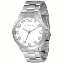 Relógio Lince Masculino (orient) Aço Lrmj039l Prova Dágua --