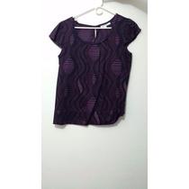 Camisa Morada (calvin Klein) - Talla M