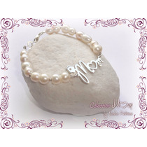 Pulsera De Perlas Con Plata 950