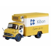 Miniatura Caminhão Mercedes Benz L1113 Kibon