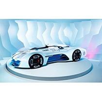 Nuevos 2015 Silk Art Poster Renault Alpine Visión De Coche